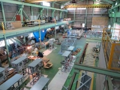 Production of various canned products (assembly, repair / maintenance, welding, painting)